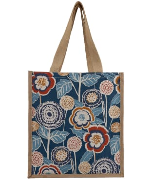 Women's Seasalt Jute Shopper - Garden Dark Wreckage