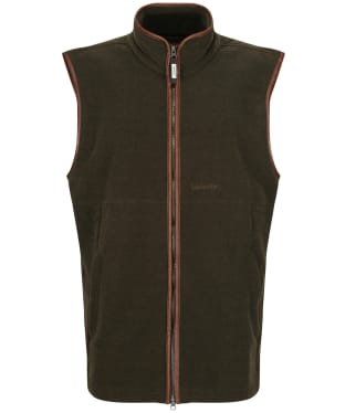 Men's Schoffel Oakham Fleece Gilet - Dark Olive