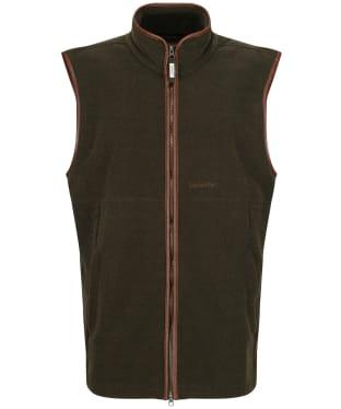 Men's Schoffel Oakham Fleece Gilet - Dark Olive