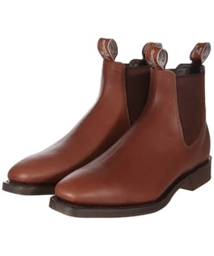 Men's R.M. Williams Lachlan Boots - G Fit - Brown