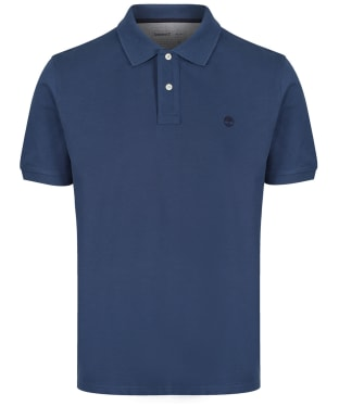 Men's Timberland S/S Millers River Polo Shirt - Dark Denim