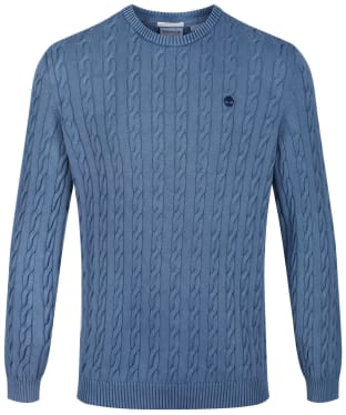 Men's Timberland Manhan River Washed Cable Sweater