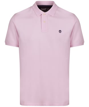 Men's Timberland S/S Millers River Polo Shirt - LIGHT LILAC