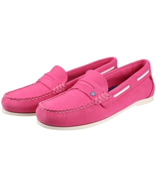 Women's Dubarry Belize Slip-on Deck Shoes - Orchid