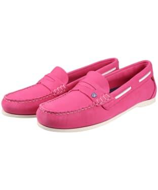 Women's Dubarry Belize Slip-on Deck Shoes - Orchid