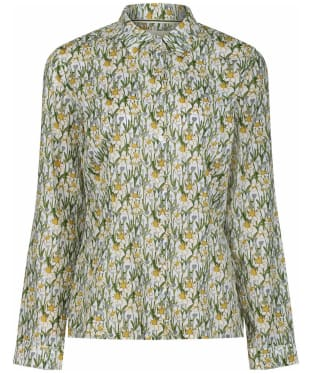 Women's Seasalt Larissa Shirt - Spring Border Dill