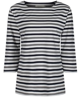 Women's Seasalt Sailor Top - Mini Cornish Duet Midnight
