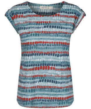 Women's Lily & Me Surf Side Tee - Teal