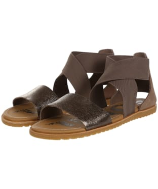 Women's Sorel Ella Sandals - Ash Brown