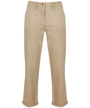 Women's Barbour Chino Trousers - Stone