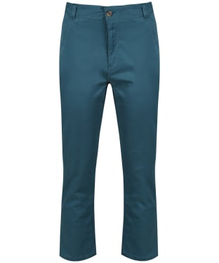 Women's Lily & Me Twill Cropped Trousers - Teal
