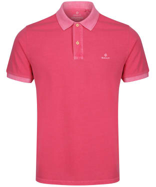 Men's GANT Sunbleached Polo Shirt - Rapture Rose
