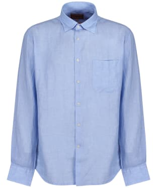Men's Schoffel Thornham Shirt - Linen Lt Blue