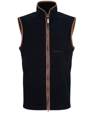 Men's Schoffel Oakham Fleece Gilet - Navy