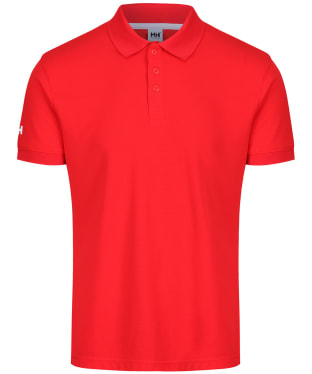 Men's Helly Hansen Crewline Polo Shirt - Alert Red