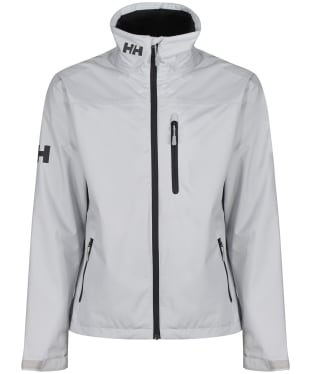 Men's Helly Hansen Waterproof Crew Jacket - Grey Fog
