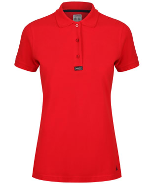 Women's Musto Pique Polo Shirt - True Red