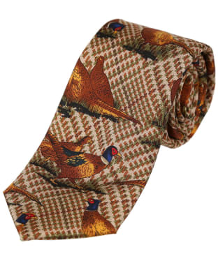 Men's Soprano Tweed Pheasant Tie - Pheasant