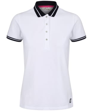 Women's Dubarry Parkmore Polo Shirt - White