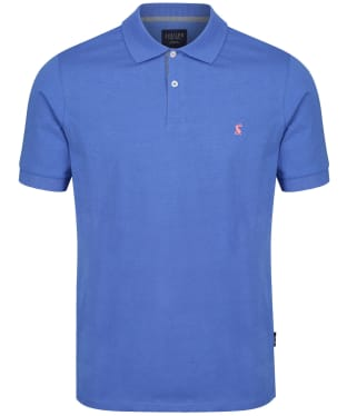Men's Joules Jersey Polo Shirt - Mid Blue