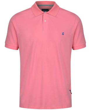 Men's Joules Jersey Polo Shirt - Pale Peachy Pink