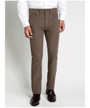 Men's R.M. Williams Ramco Moleskin Jeans - Taupe