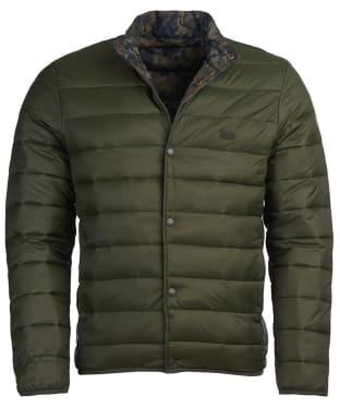 Men's Barbour International Mark Quilted Jacket - Sage