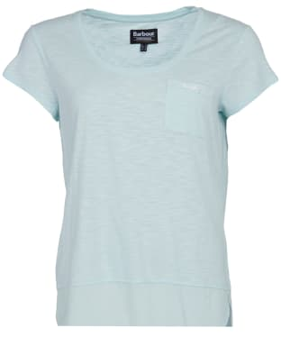 Women's Barbour International Fullcourt Top - Opal