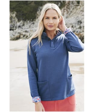 Women's Lily & Me Hatty Sweatshirt - Navy