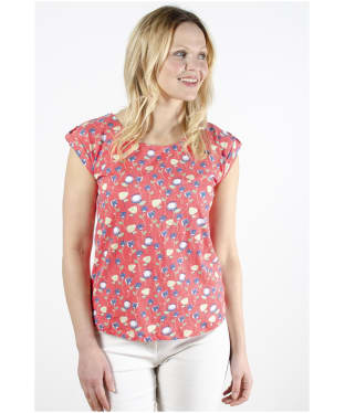 Women's Lily & Me Tulips Surf Side Tee - Paradise Pink