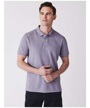 Men's Crew Clothing Classic Pique Polo Shirt - Lavender