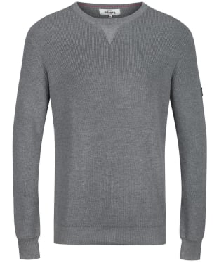 Men's Dubarry Garrycastle Crew Neck Sweater - Grey