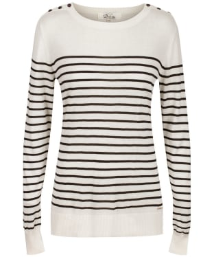Women's Dubarry Portlaw Sweater - White