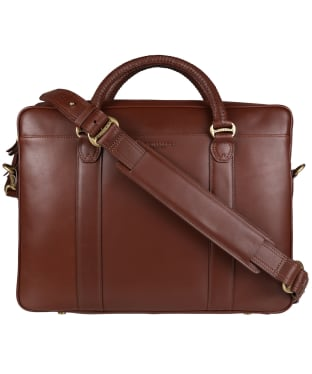 R.M. Williams City Briefcase - Chestnut