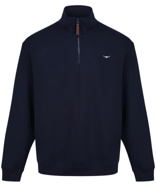 R.M. Williams Mulyungarie Half Zip Fleece - Navy
