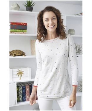 Women's Lily & Me Favourite Jumper Dotty - Silver