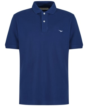 Men's R.M. Williams Classic Rod Polo Shirt - Blue