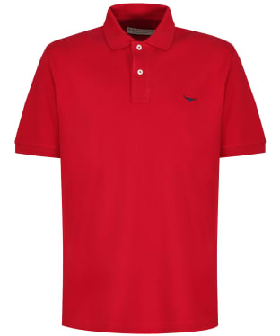 Men's R.M. Williams Classic Rod Polo Shirt - Red