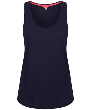 Women's Joules Bo Jersey Vest Top - French Navy