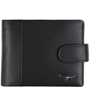 Men's R.M. Williams Wallet - Coin Pocket + Tab - Black