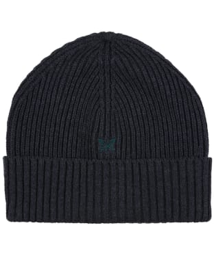 Men's Crew Logo Beanie Hat - Charcoal
