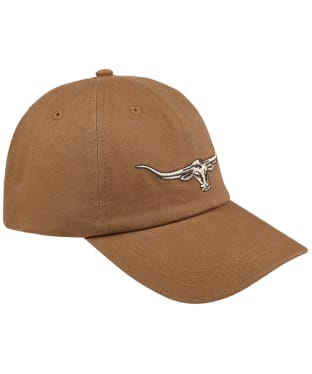 Men's R.M. Williams Steer's Head Cap - Camel