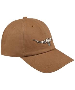Men's R.M. Williams Steer's Head Cap - Camel