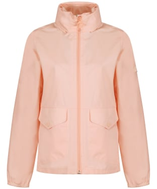 Women's Barbour Overland Waterproof Jacket - Pale Coral Marl