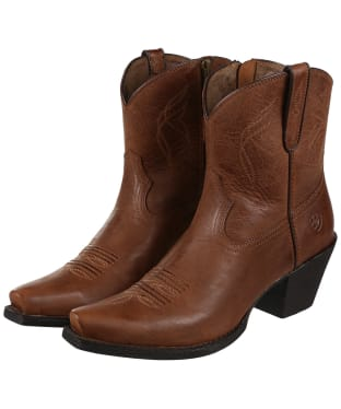 Women's Ariat Lovely Western Boots - Sassy Brown