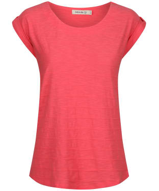 Women's Lily & Me Surf Side Tee - Paradise Pink