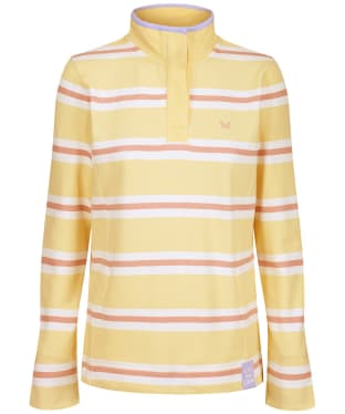 Women's Crew Clothing Summer Padstow Stripe Sweatshirt