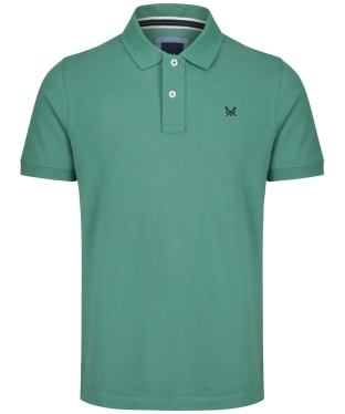 Men's Crew Clothing Classic Pique Polo Shirt - Sea Spray