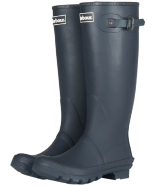 Women's Barbour Bede Wellington Boots - Navy