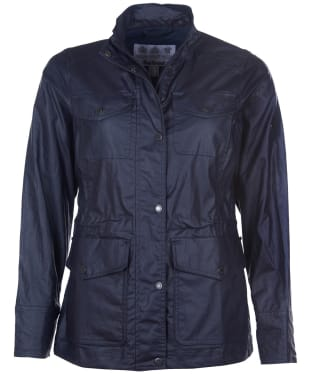 Women's Barbour Murre Casual Jacket - Navy